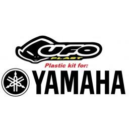 UFO Front Rear Fender Kit Yamaha YZ 125 250 490 1987-1990 White