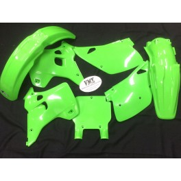 Plastic kit KX125 1992 with USD front numberplate