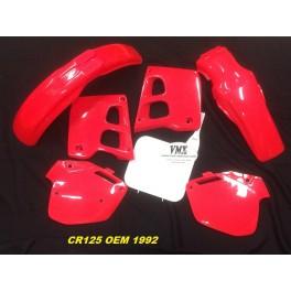 Plastic kit CR125  1991-1992