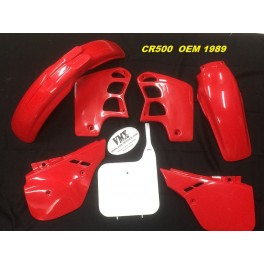 Plastic kit CR500 1989-1990