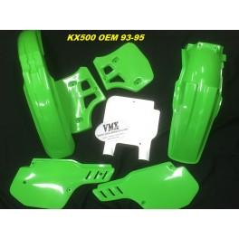 Plastic kit KX500 1993 - 1995