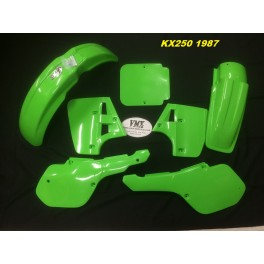 Plastic kit KX250 1987