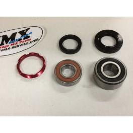 Rearwheel bearing kit incl retainer 1989 CR250 CR500