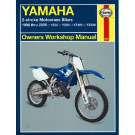 Haynes YZ models 1986-2006
