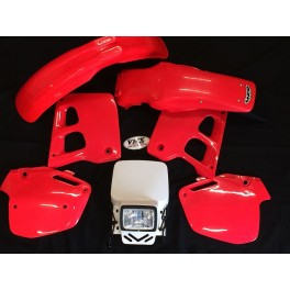 Enduro plastic kit CR125 1992