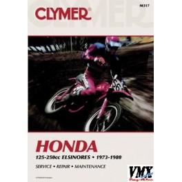 Clymer handboek CR 1973-1980