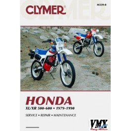 Clymer manual XR500 - XL500 - Vintage Service MX Parts on